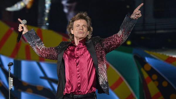 Mick Jagger performs at Ciudad Deportiva in Havana.