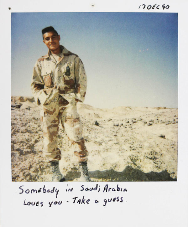 Andy Alaniz was killed in friendly fire in Iraq in 1991.
