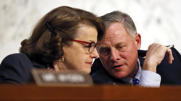 Senate Intelligence Committee Vice Chairman Dianne Feinstein, D-Calif., and Chairman Richard Burr, R-N.C., have introduced encryption legislation.