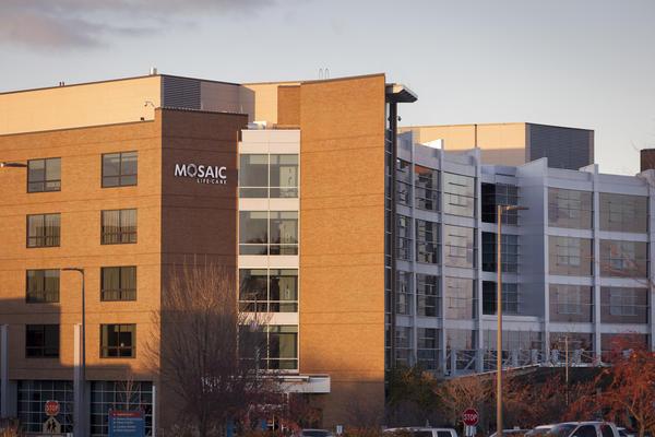 Mosaic Life Care, formerly Heartland Regional Medical Center, in St. Joseph, Mo.