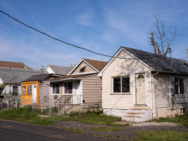 Some homes have fallen into disrepair in the Midland Beach neighborhood in Staten Island, N.Y. Almost four years since the destruction caused by Hurricane Sandy, many on Staten Island are still dealing with the storm's consequences.