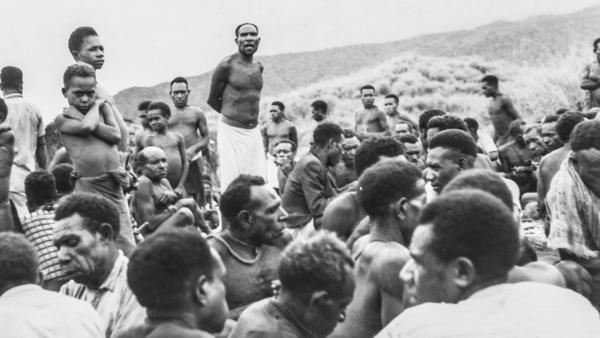 "In 1962, a local leader in the Eastern Highlands of Papua New Guinea asks Fore men to stop the sorcery that <a href=""https://books.google.ie/books?id=f0YeCwAAQBAJ&lpg=PT104&pg=PT105#v=onepage&q&f=false"">he believes</a> is killing women and children."