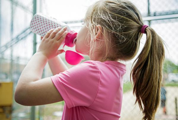 Most children in the U.S. don't drink enough water, and summer heat and outdoor play can increase water needs.