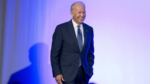 """You're putting your rep on the line you're saying I think this person has character and that's what I'm prepared to do for Hillary,"" Vice President Joe Biden told NPR."