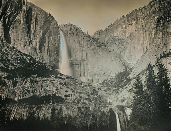"Danh says he hopes his images will help viewers ""become a part of this land."" Above, Yosemite Falls, shown in May 2011."
