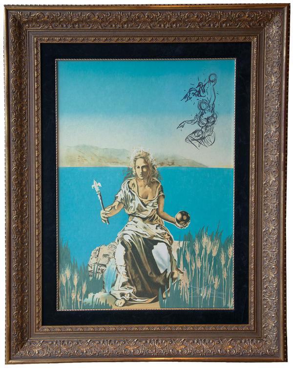 <em>Coronation of Gala</em>, by Salvador Dalí.