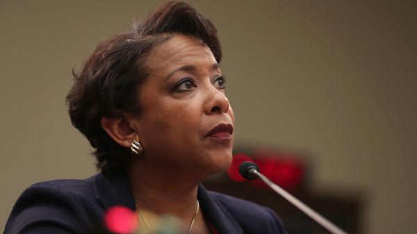 Attorney General Loretta Lynch testifies during a hearing before the House Judiciary Committee Tuesday.