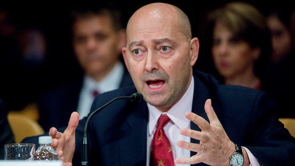 Adm. James Stavridis, co-chairman of the U.S. Global Leadership Coalition National Security Advisory Council, spoke during a Senate State, Foreign Operations and Related Programs Subcommittee hearing in March 2015