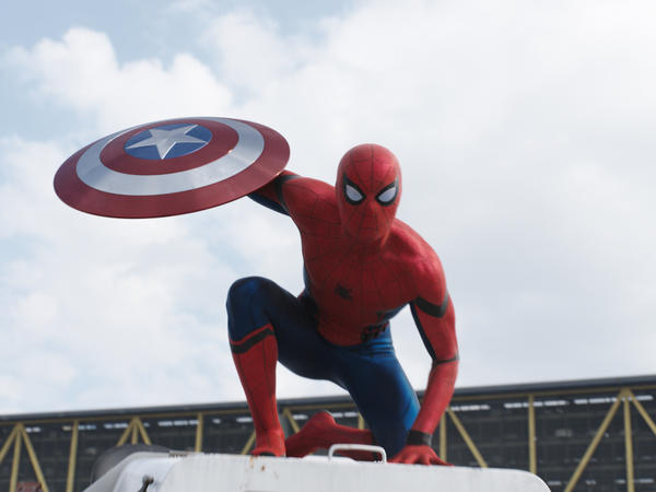 """Both Spider-Man and Captain America are """"suped""""-up versions of our middle class selves."""
