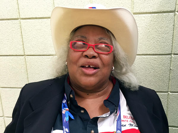 Anne Mazone, a Texas delegate, is a Republican through and through, so she is voting for the nominee.
