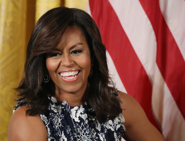 """First lady Michelle Obama hosts the third annual """"Beating the Odds"""" summit with future college students at the White House on July 19 in Washington, D.C."""