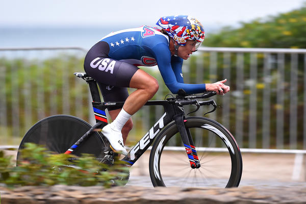 Kristin Armstrong won Olympic gold in the cycling time trial the day before she turned 43.