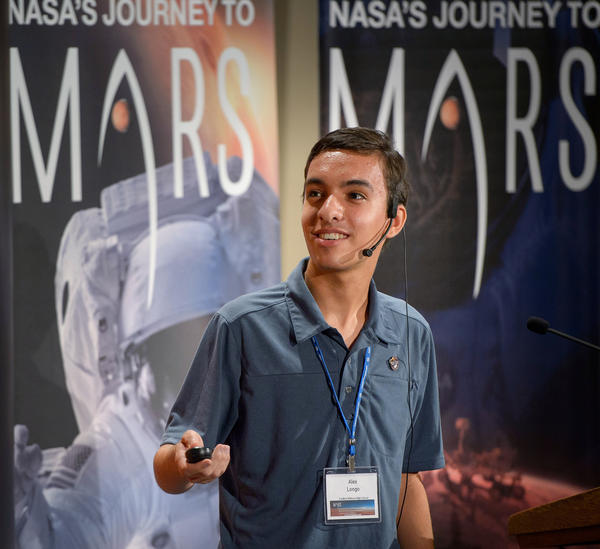 "Alex Longo says he initially submitted his proposal in hopes of ""having a small say"" in where the next Mars rover lands, and maybe getting some cool NASA swag. But scientists are seriously considering his ideas."