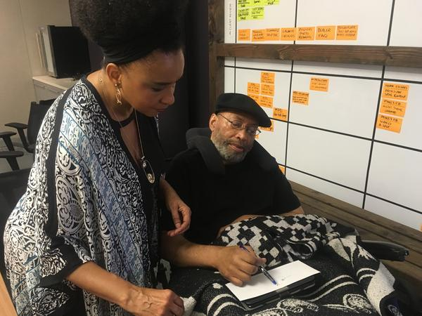 Rosalind Alexander-Kasparik cares for her fiance, David Rector, who's trying to have his voting rights restored five years after a judge ruled that a traumatic brain injury disqualified him from casting a ballot in San Diego.