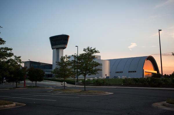 The National Air And Space Museum's Steven F. Udvar-Hazy Center.