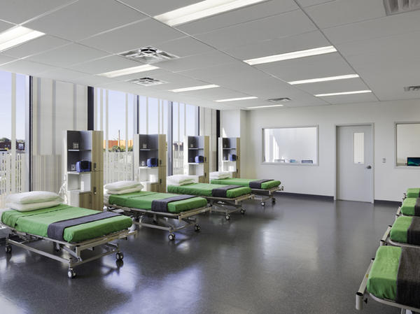Biotrial's new facility in New Jersey has 110 beds for healthy volunteers participating in clinical trials.