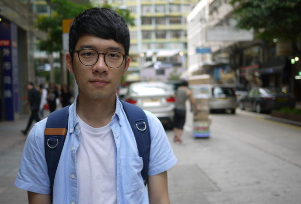 Nathan Law, 23, is a former leader of Hong Kong's 2014 Umbrella Movement protests against China. Now he is the city's youngest legislator ever, and says he will support additional protests against the mainland.