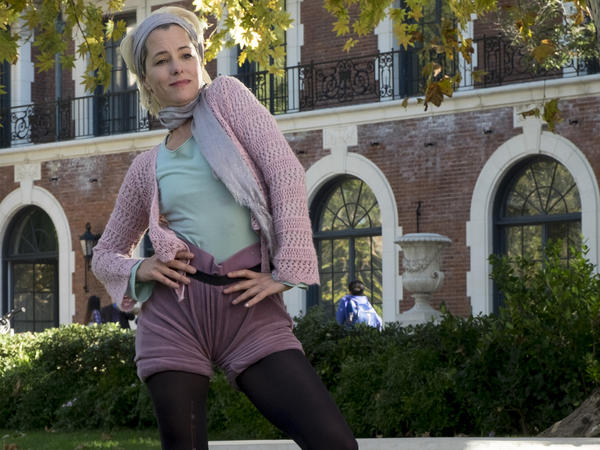 Parker Posey appeared in <em>A Mighty Wind</em> and <em>Waiting for Guffman</em>. She plays Cindi Babineaux, aka Alvin Armadillo, in Guest's latest film.
