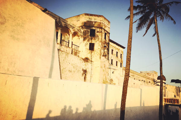 For hundreds of years, the Elmina Castle, which sits on the Gulf of Guinea, was a major depot in the trans-Atlantic slave trade.