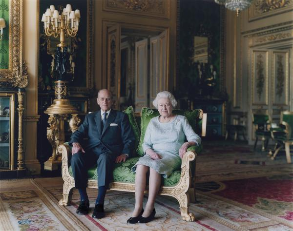 """Struth photographed Britain's Queen Elizabeth and Prince Philip in 2011. """"They were actually quite nice together,"""" he says of the experience. (Pictured:<em> Queen Elizabeth II and The Duke of Edinburgh, Windsor Castle 2011</em>)"""