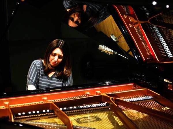Simone Dinnerstein plays <em>The Cohen Variations</em>, by Daniel Felsenfeld in the NPR studios