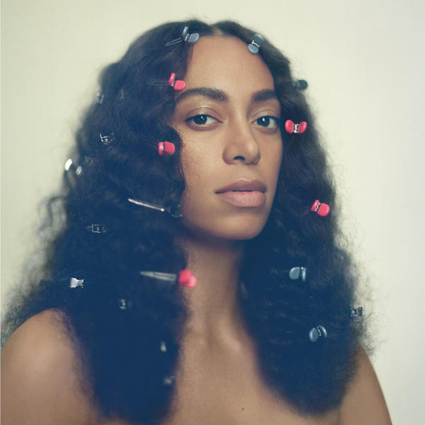 Solange on the cover of her new album, <em>A Seat At The Table</em>.