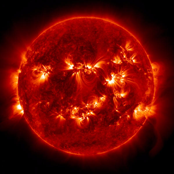 """The sun regularly shoots particles into space. The resulting """"space weather"""" can be very disruptive."""