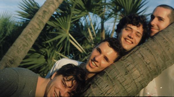 """""""I<strong> </strong>think we came about precisely from just goofing around and having fun,"""" bassist Chester Hansen (second from right) says. """"And we're still just goofin'."""""""