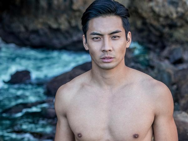 Yoshi Sudarso stars in <em>It's Asian Men!</em> The film counteracts stereotype by showcasing Asian-American men as romantic leads.