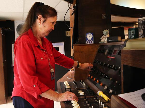 Lee Ann Hennig operates the planetarium at Thomas Jefferson High School. She's been teaching astronomy since 1969.