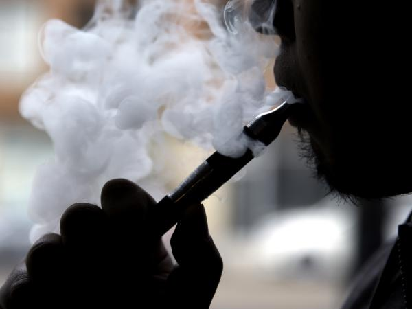 The U.S. surgeon general warns that e-cigarette smoking has the potential to cause young people lasting harm.