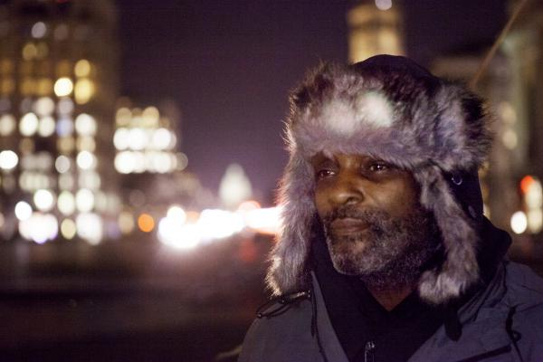 Robert Warren was homeless during two stretches of time in the nation's capital. Now, he is an advocate for the homeless and organizes memorial services like the one on Tuesday.