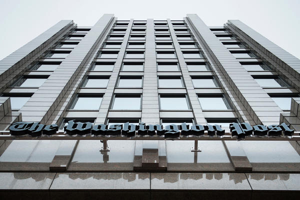 <em>The Washington Post</em> set records for traffic and digital advertising revenue in 2016. The <em>Post</em> moved to this new building on Washington's K Street in December 2015.