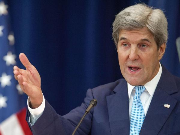 U.S. Secretary of State John Kerry laid out his vision for peace between Israel and the Palestinians Wednesday. In the more than hourlong address, Kerry criticized Jewish settlements in the West Bank as an impediment to peace.