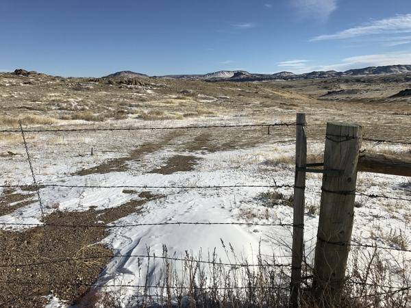 The Laramie range north of Laramie, Wyo., is a mix of private and public lands run by the U.S. Bureau of Land Management. About half of all the land in Wyoming is controlled by the federal government.