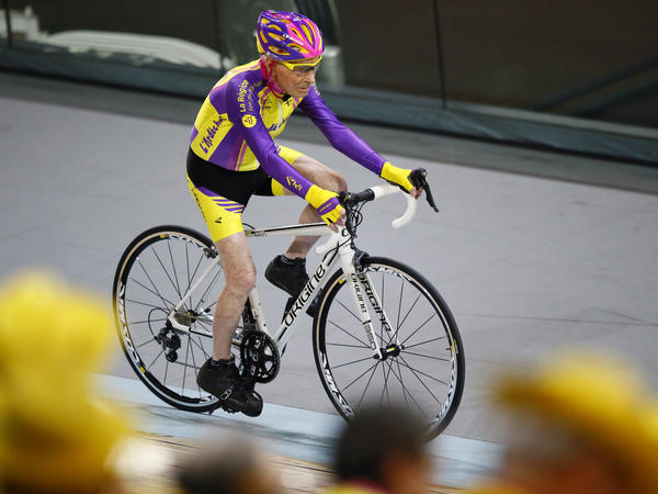"""If the president of his teenage club who told him he was not made for cycling because he was too small could see him today, he would kick himself,"" Marchand's coach and friend Gerard Mistler told The Associated Press."