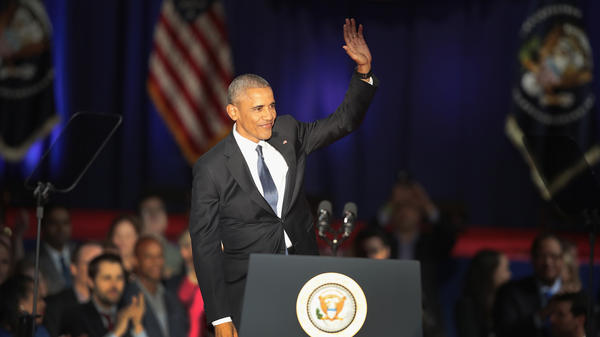 President Obama delivered his farewell speech to the nation from Chicago on Tuesday.