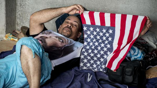 A Cuban migrant bound for the U.S. by way of Central America rests in a shelter in Costa Rica in November 2015. Until President Obama ended the so-called wet-foot, dry-foot policy on Thursday, Cubans who reached U.S. soil either by sea or land were allowed to stay and seek permanent residency.