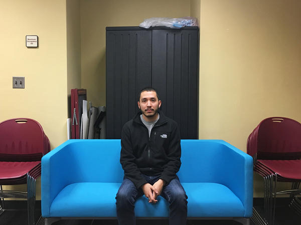 Juan de la Rosa Diaz came to the U.S. from Mexico when he was 5. The 20-year-old is in his last semester as a political science major at Virginia Tech.