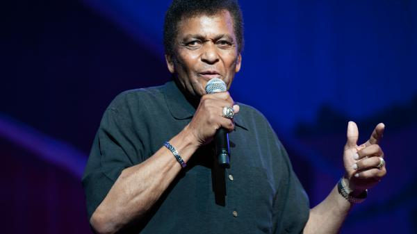 Charley Pride performs at Nashville's Ryman Auditorium in 2015.