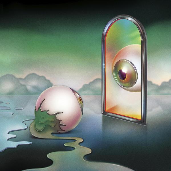 The cover art to Nick Hakim's <em>Green Twins</em>.