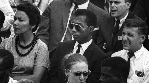 James Baldwin, in the new documentary <em>I Am Not Your Negro.</em>