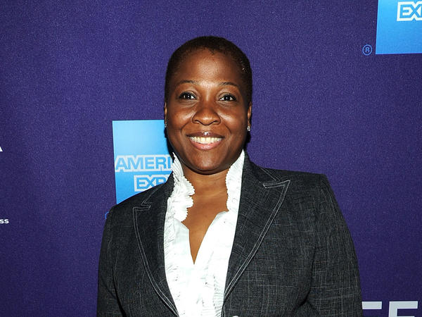 Jehmu Greene, formerly president of the Women's Media Center, at the 2010 Tribeca Film Festival in New York.