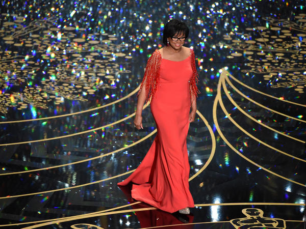 Academy of Motion Picture Arts and Sciences President Cheryl Boone Isaacs speaks onstage during the 88th Annual Academy Awards at the Dolby Theatre on February 28, 2016 in Hollywood, California.