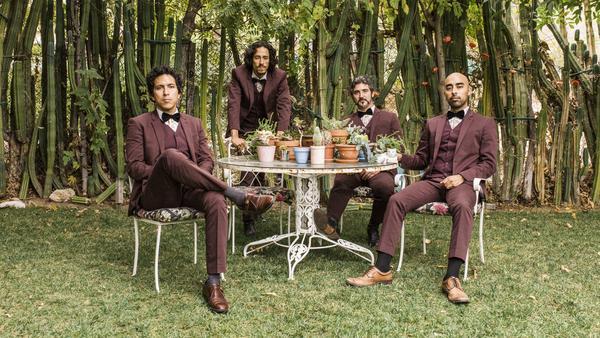 <em>Freedom Is Free</em> is the latest album by Los Angeles quartet Chicano Batman. Left to right: Eduardo Arenas, Bardo Martinez, Gabriel Villa, Carlos Arévalo.