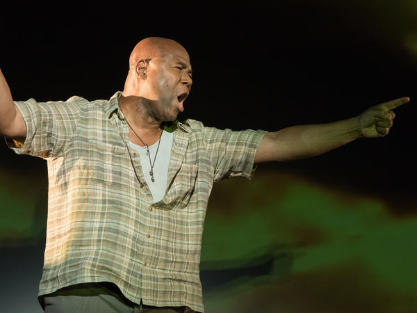Arthur Woodley gave a memorable performance as the elderly boxer Emile Griffith in Terence Blanchard's <em>Champion</em>.