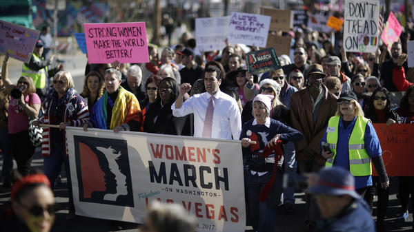 The call for female workers to strike Wednesday comes on International Women's Day, which helped to inspire the strike and follows the Women's March in January.