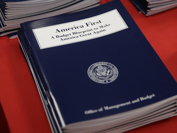 "President Trump's ""America First"" budget blueprint was released on Thursday."