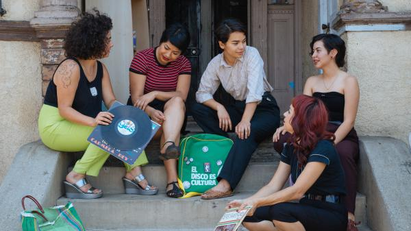 The Chulita Vinyl Club embraces old-school records and empowers young women. This is the Los Angeles chapter.