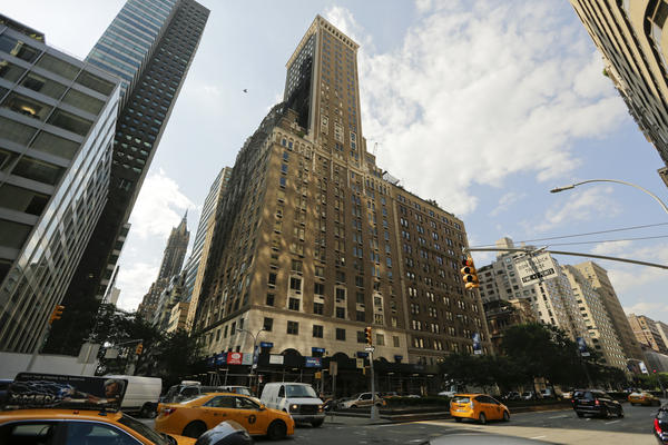 A view of the Trump Park Avenue building in New York. President Trump's properties have been attracting a large and generous circle of buyers, from wealthy Russians to a Chinese businesswoman, and many questions are being raised about the ethics of these deals.